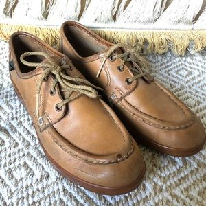 70's Lace Up Loafers